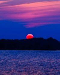 Nebraska Sunset  Pawnee Lake State Recreation Area Lincoln NE