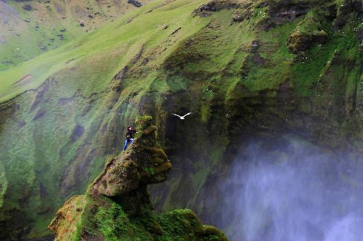 Hiking in Iceland - photog unknown