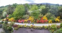 Inveraray 20-05-2019 Castle grounds walk from Clan Room horizontal panorama 01