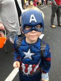 Eli as Capt. America