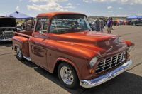 Custom Chevy Pickup - 55 or 56?