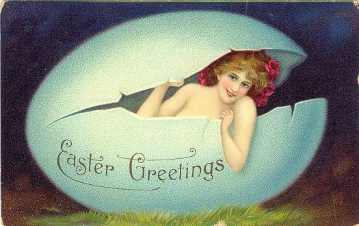 Bizarre Easter Card