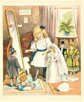 Themes Vintage illustrations/pictures - Doll Bride