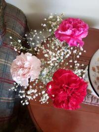 My daughter's arrangement