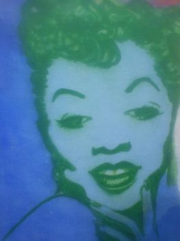 Work in progress-My fave Jazz Ladies-Sarah Vaughan