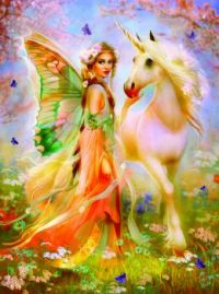 Fairy Princess & Unicorn
