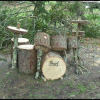 """Rustic"" Drum Kit"
