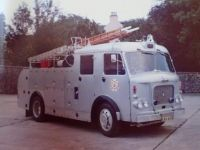 Water tender North Eastern Fire Brigade Scotland