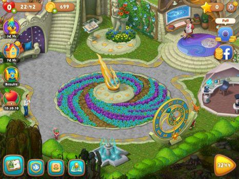 Gardenscapes galaxy area