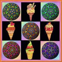 Ice creams & Kaleidos