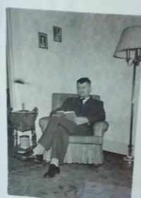 My Great Grandfather after he got home!!