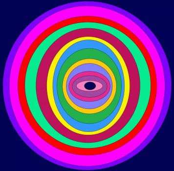 """Concentric"" Ovals (Smaller)"