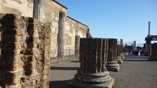 Judicial building in Pompeii