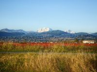 View of Mission from Abbotsford BC