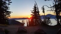 Sunrise/Crater Lake