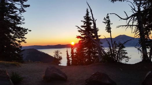 Sunrise/Crater Lake