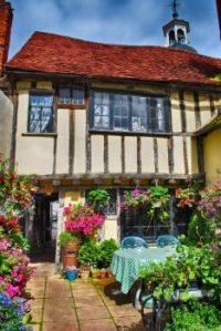 15th Century Clockhouse Tearooms, Coggeshall, Essex