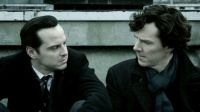 Sherlock and Jim on The Rooftop