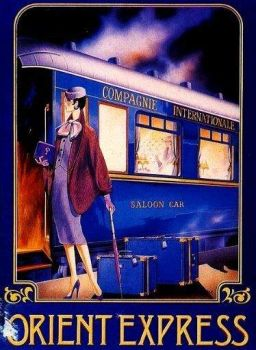 Driving In The Saloon Car- Orient Express