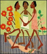 Ring Around the Rosey ~ William H.  Johnson