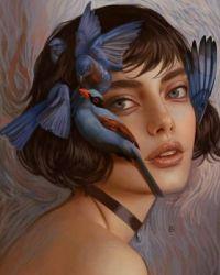 3  ~  'Petits oiseaux bleus chuchotants'