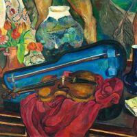 Suzanne Valadon. The Violin Case, 1923