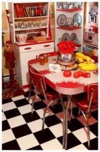 Kitchens past