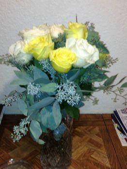 White & Yellow Roses