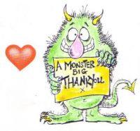 THANK YOU!  THANK YOU!  THANK YOU, JIGIDI FRIENDS!