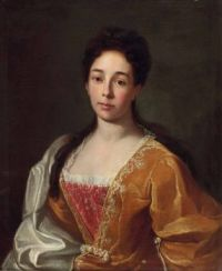 Johann Rudolf Huber  Bildnis Anna Catharina Herport 1719
