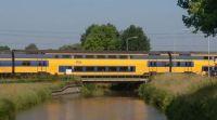 Elst, railroad crossing Eerste Weteringswal near the Brug De Oude Tol