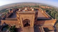 Abandoned capital of Mughal emperor Akbar - Fatehpur Sikri, India