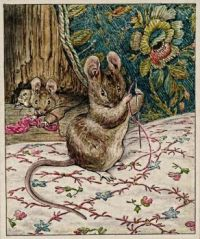 illustration from The Tailor of Gloucester by Beatrix Potter