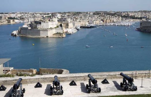 Saluting battery Valletta