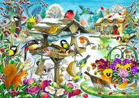 Winter-Garden-Birds
