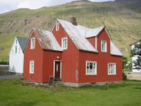 House in Seydisfjordur, Iceland, by WorldIslandInfo.com