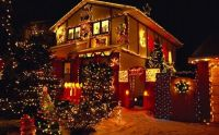 Beautiful Christmas house