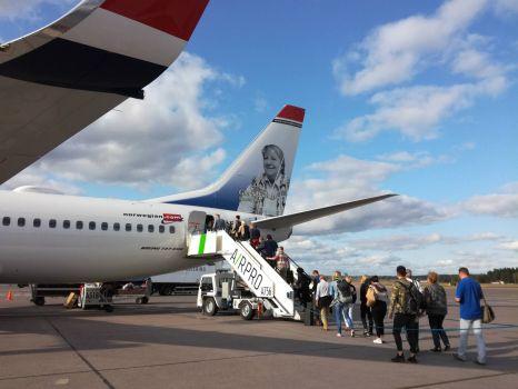 Norwegian Air to Paris