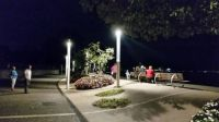 Bardolino Boardwalk at night