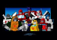 Autobots Season 1 by fantasination