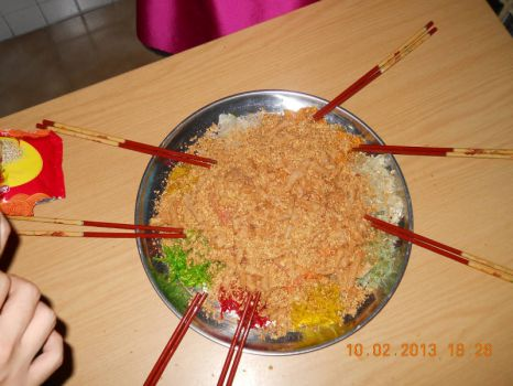 A must have Prosperity Dish aka Yusheng during Chinese New Year