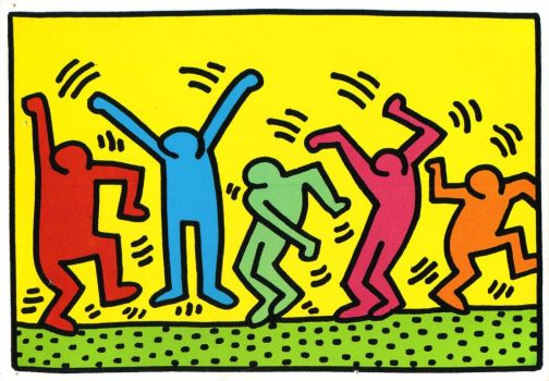 Keith Haring: People Dancing