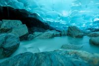 Mendenhall Ice Caves in Juneau, AK