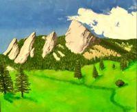Boulder Flatiron