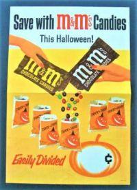 Themes Vintage ads - M & M`s Candies