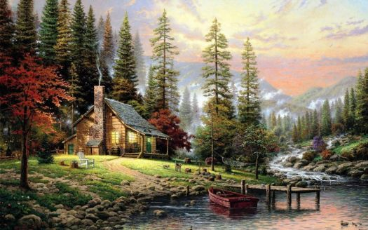 Mountain Cabin By The Lake