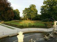 Krumlov - zámecká zahrada