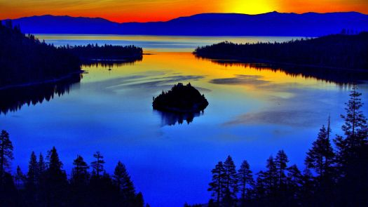 Emerald Bay State Park, California