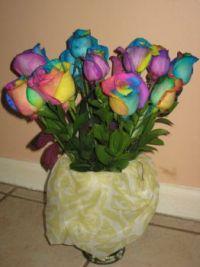 TyeDye Roses