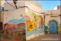 busy painter, Tunisia